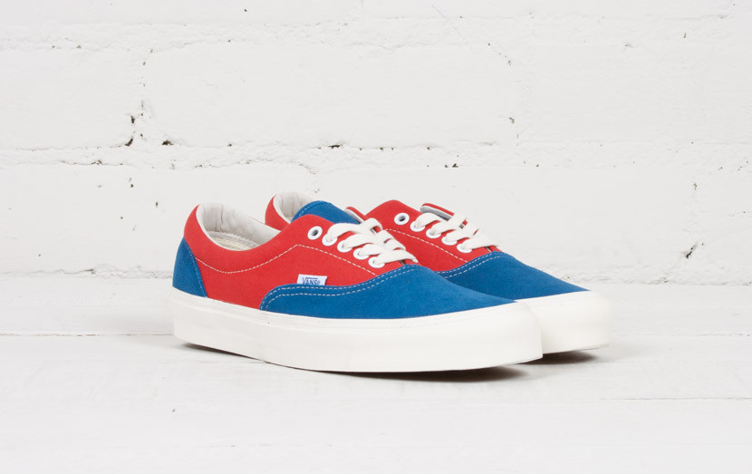 Vans Vault OG Era LX Dark Blue/Cranberry