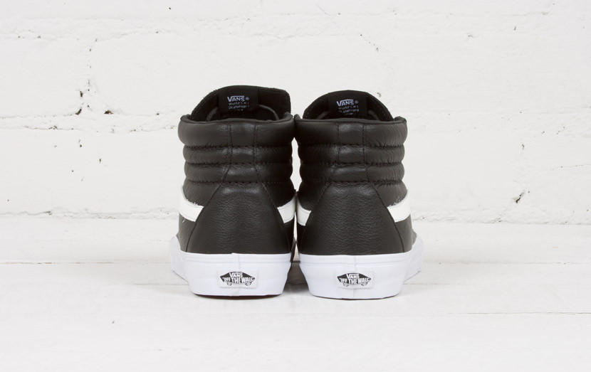 Vans Sk8 Hi Reissue Premium Leather Black/White