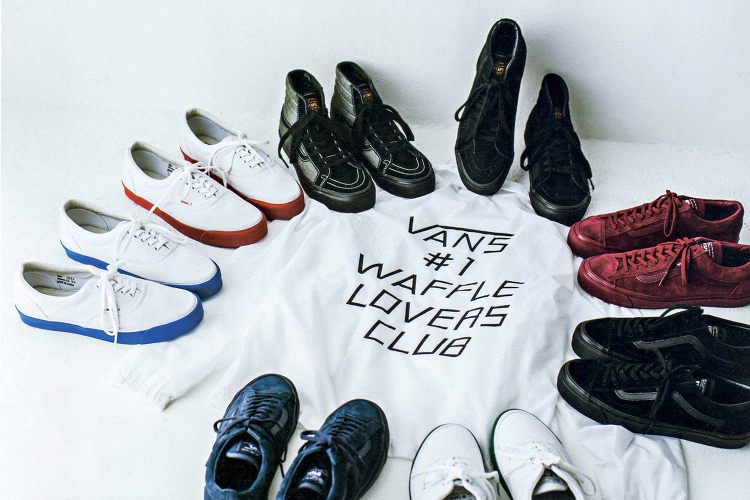 WTAPS x Vans Vault Fall Winter Collection — Strictly Waffles 1334f9e0c1