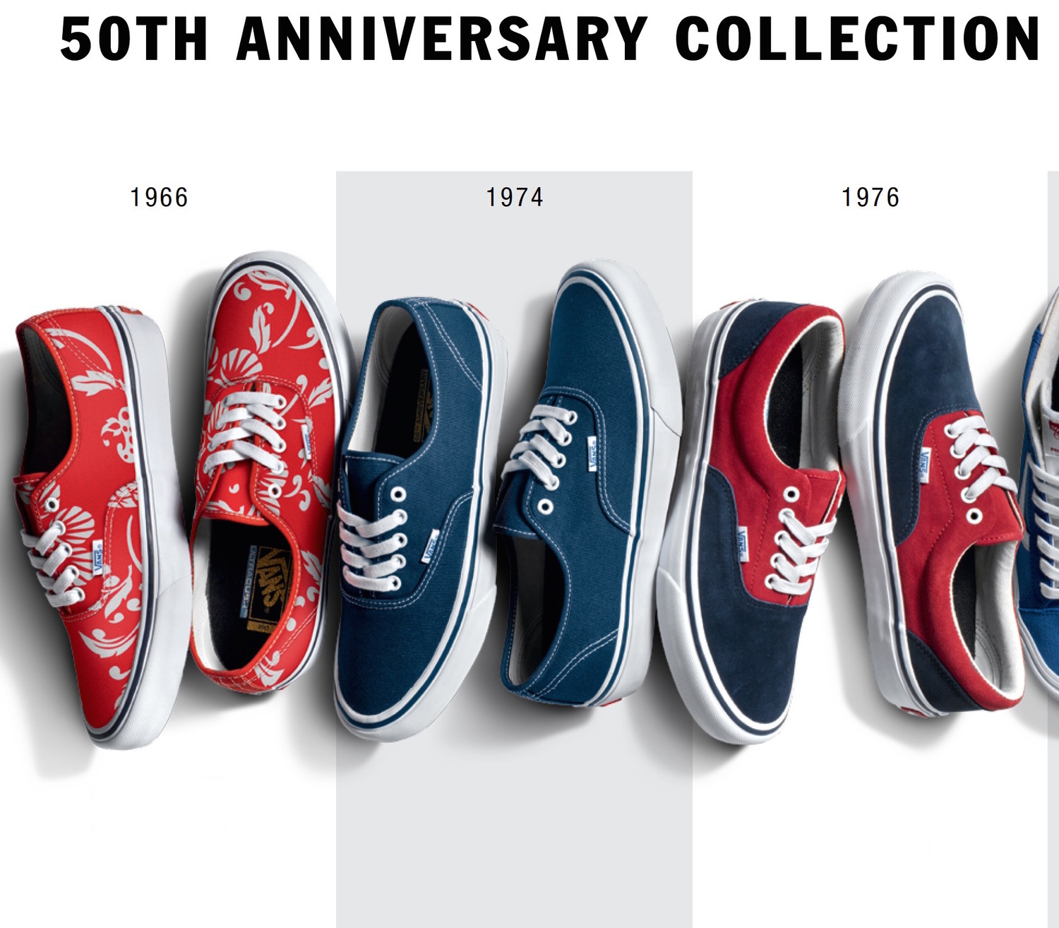 Vans 50th Anniversary Pro Classics Collection — strictly waffles. 890ad86e125