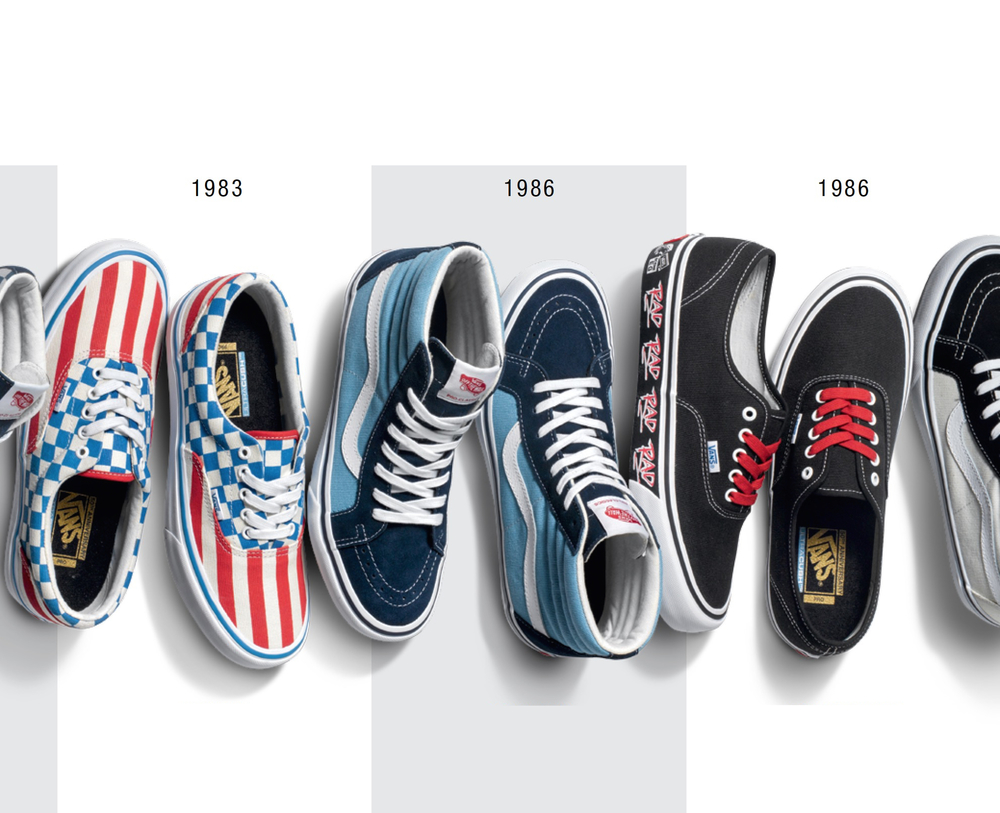 b192fb67ab3a Vans 50th Anniversary Pro Classics Collection