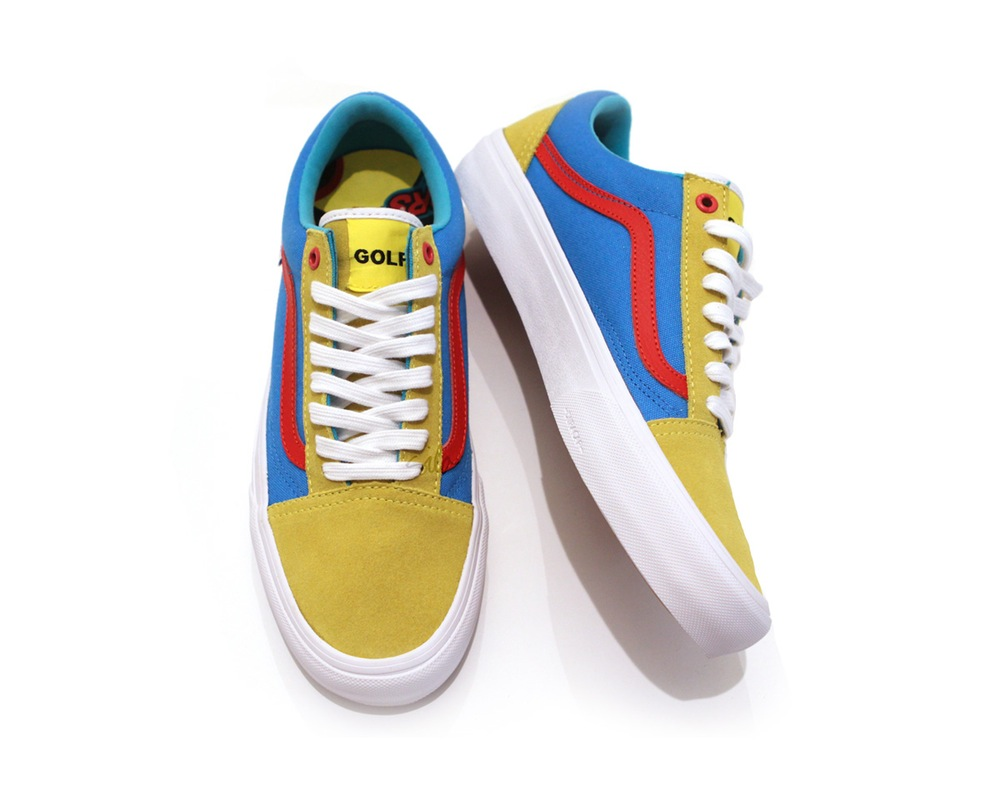 3738891790a276 Golf Wang x Vans Pro Classics Old Skool