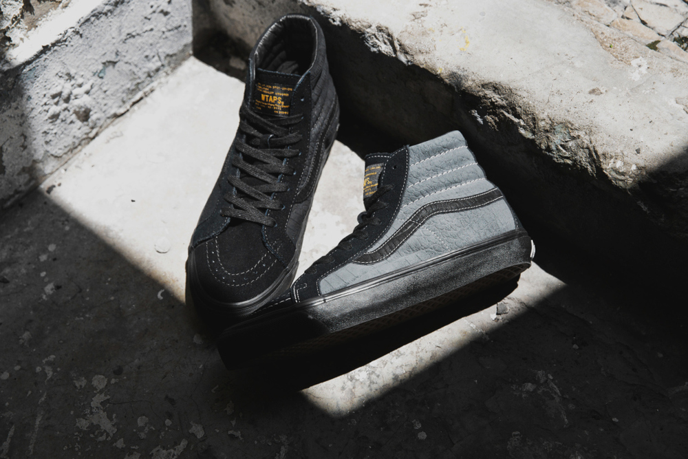 WTAPS x Vans Vault Collection Sk8 Hi OG LX