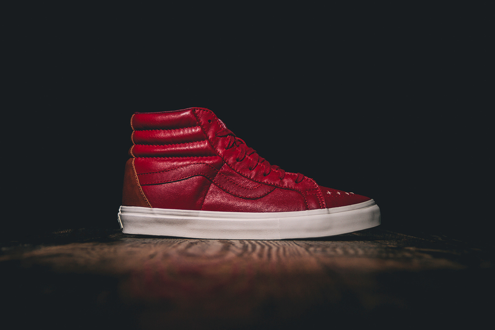 "Wish x Vans Vault Sk8 Hi and Slip On LX ""Fine Wine & Olives"""