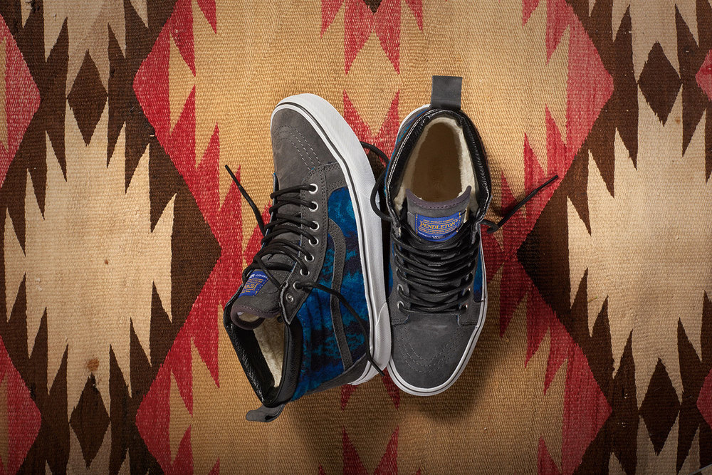 Pendleton x Vans Classics 2015 Collection-