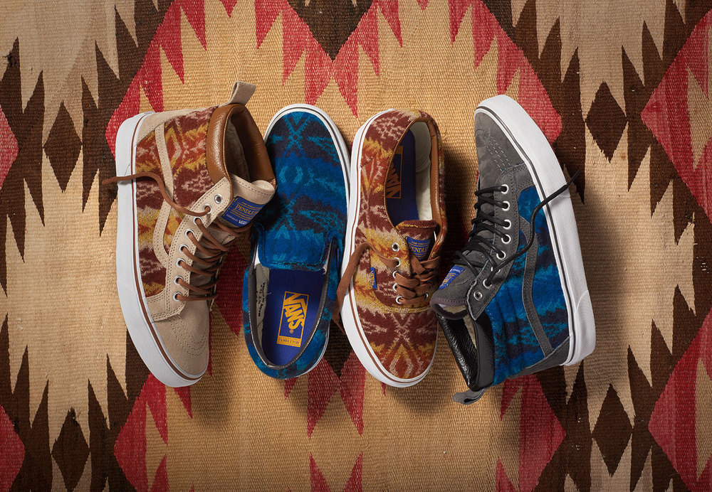 Pendleton x Vans Classics 2015 Collection
