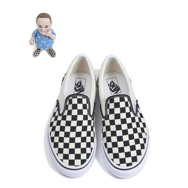 b3d874b4d52003 Vans 50th Anniversary Slip On JP ABC Mart Exclusive — strictly waffles.
