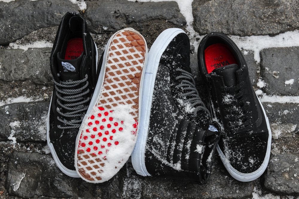 RAISED BY WOLVES x Off The Hook x Vans Vault Sk8 Hi Zip LX and Old Skool Zip LX