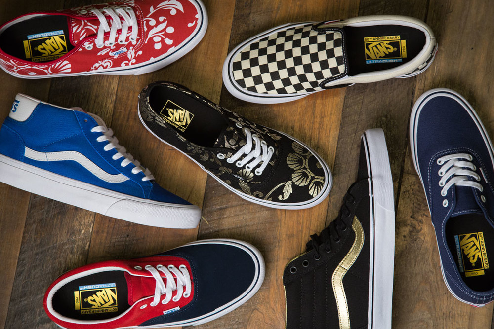 Vans 50th Anniversary Pro Classics Collection