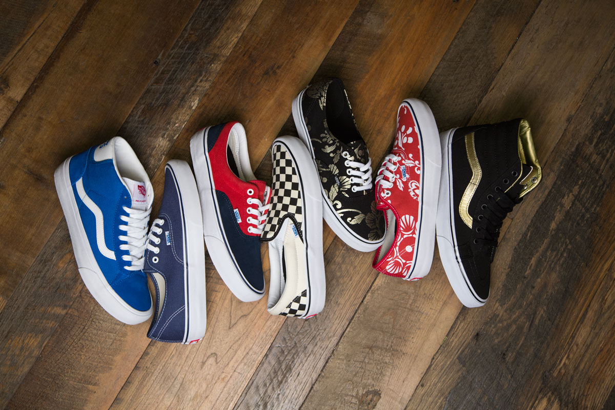 edce25169f764b Vans 50th Anniversary Pro Classics Collection - First Wave ...