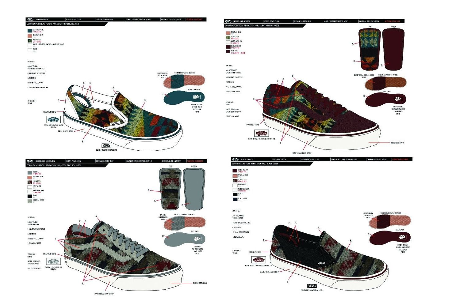 ea350cf239 Nibwaakaawin x Pendleton x Vans Collection for All Nations Skate Jam ...