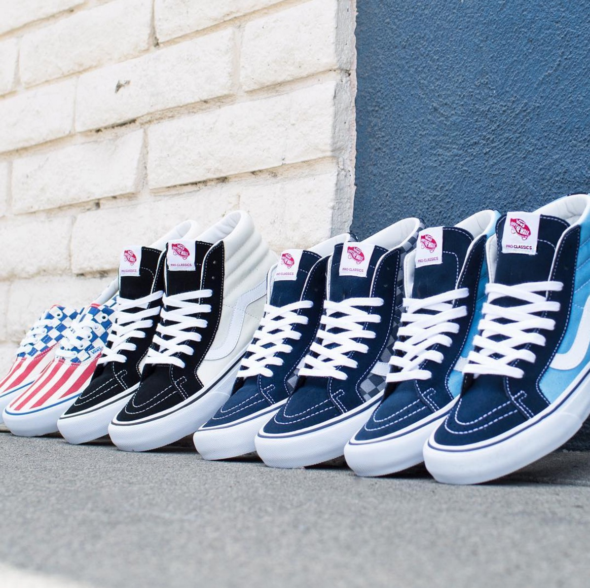 Vans 50th Anniversary Pro Classics - Wave 2 — strictly waffles. 4d05336772