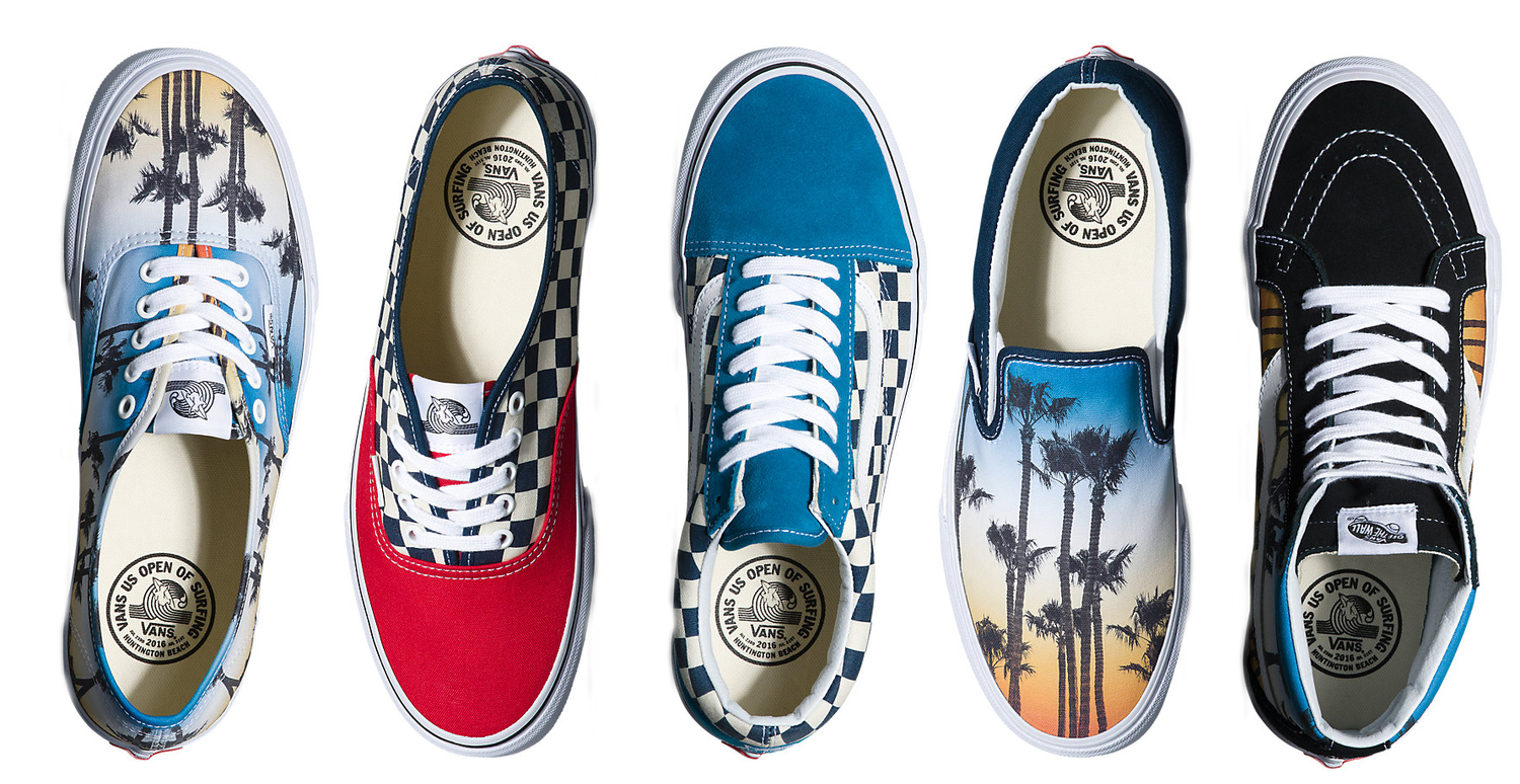 f934134415 Vans US Open of Surfing 2016 Footwear Collection — strictly waffles.