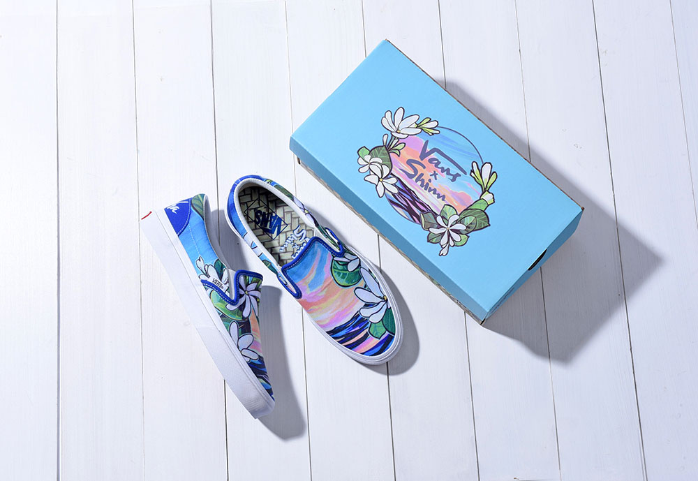 Christie Shinn x Vans Slip On JP