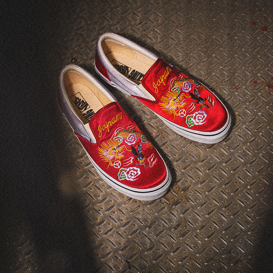 "Rollicking x Vans Slip On JP ""Sukajan"""