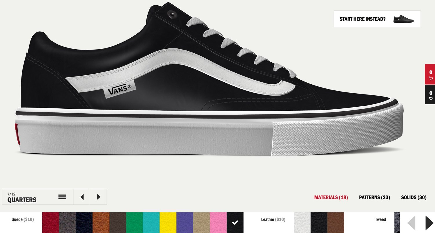 3b9444eacc Vans Unveils All New Custom Materials and Models — strictly waffles.