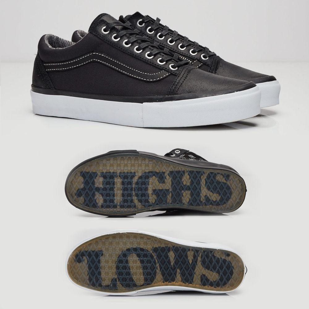 Vault by Vans x Highs & Lows Old Skool Zip and Sk8 Hi LX