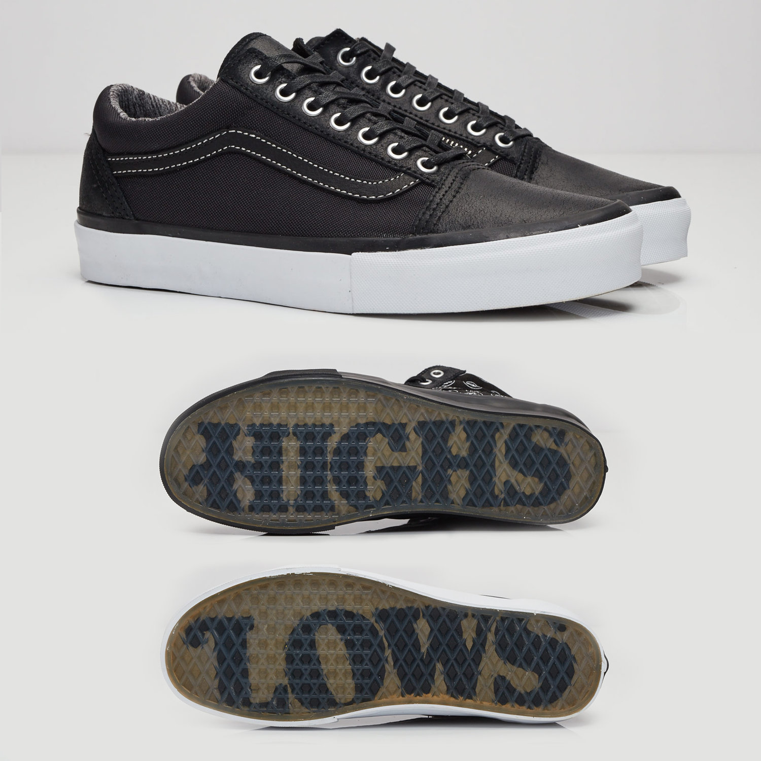 a09f6c068261 Vault by Vans x Highs   Lows Old Skool Zip and Sk8 Hi LX — strictly waffles.