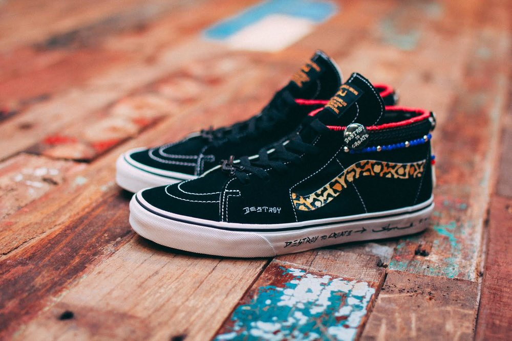 """Big Pants, Small Wheels"" Sk8 Hi Custom by SBTG for House of Vans Singapore"