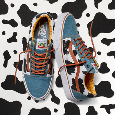 Vans x Disney & Pixar Toy Story Collection