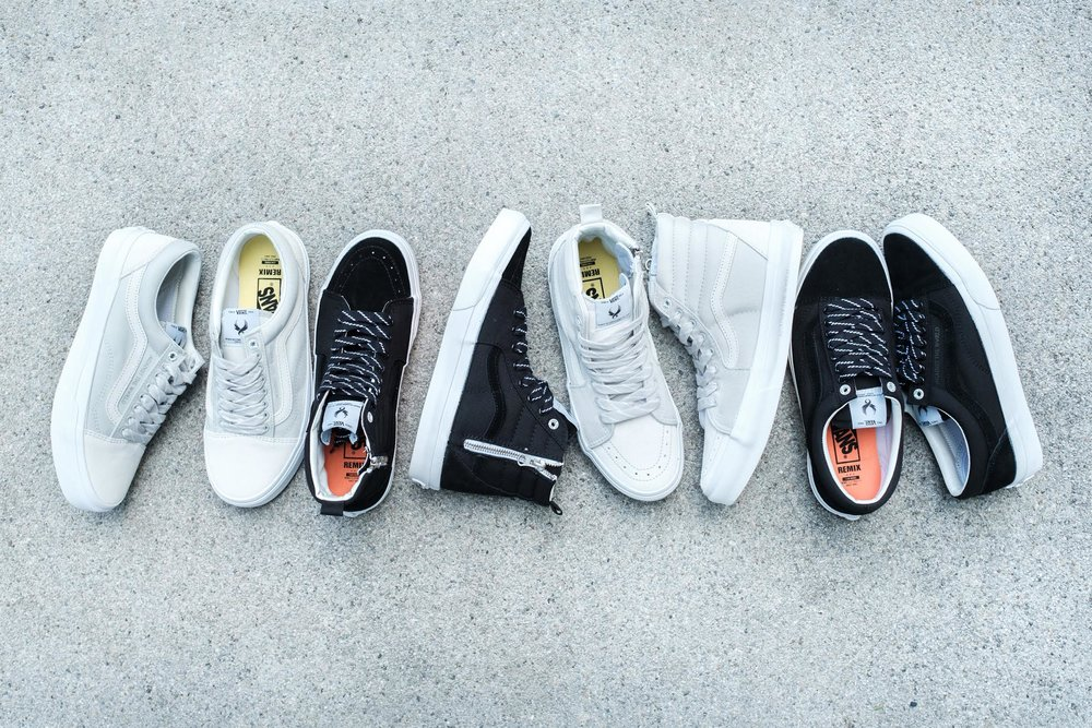 "Vans x REMIX Taipei ""Against the World"" Collection"