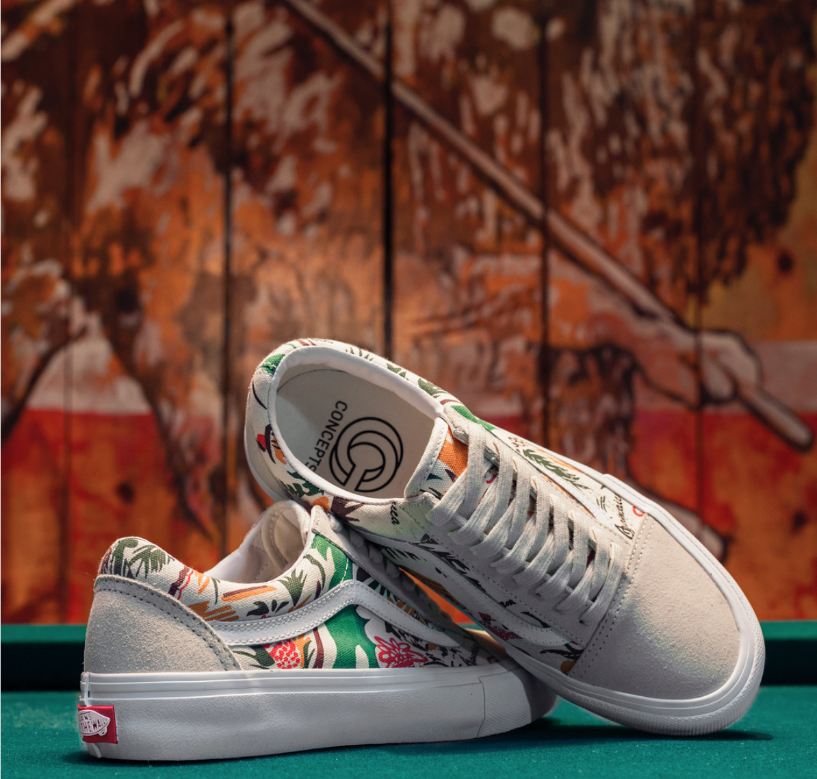 0066c0d45f Vans Skate x Concepts Old Skool Pro Jamaica Pack — strictly waffles.