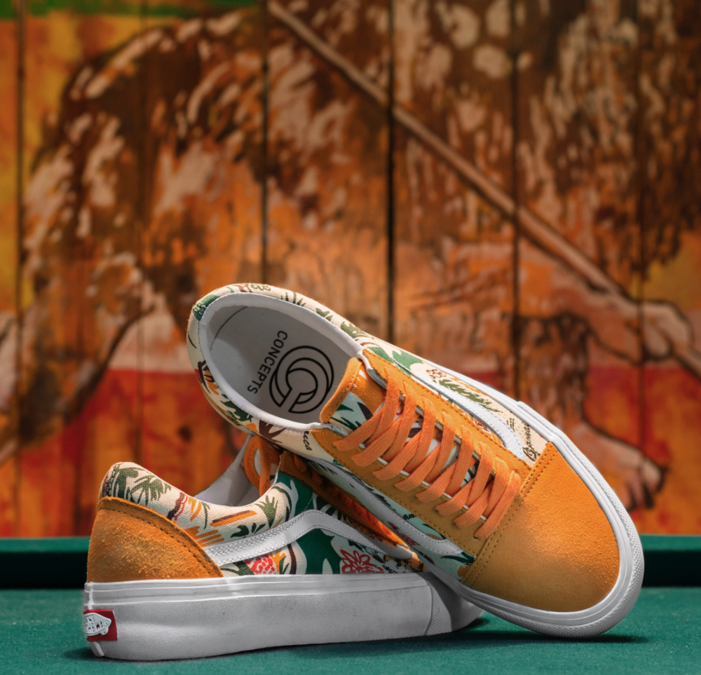 Vans Skate x Concepts Old Skool Pro Jamaica Pack