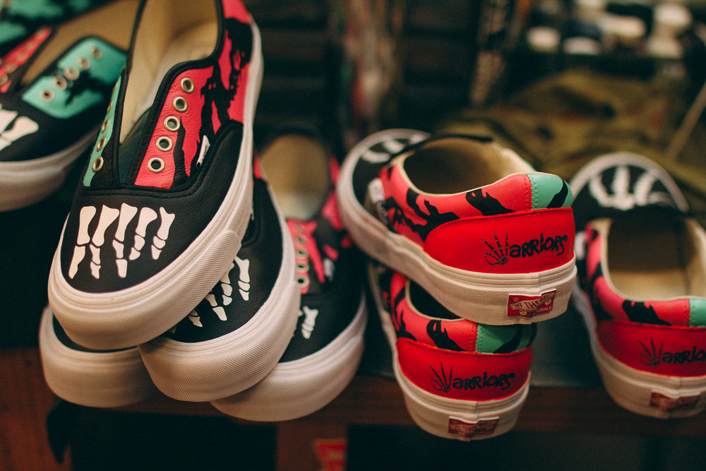 First Look: Custom Vans by SBTG for Kadir Warriors, Part 3