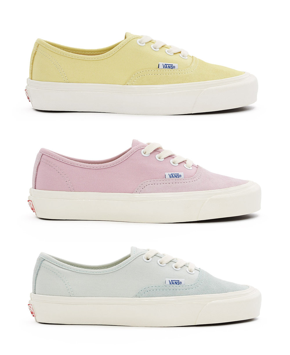 Vault by Vans OG Authentic LX Pastel Collection