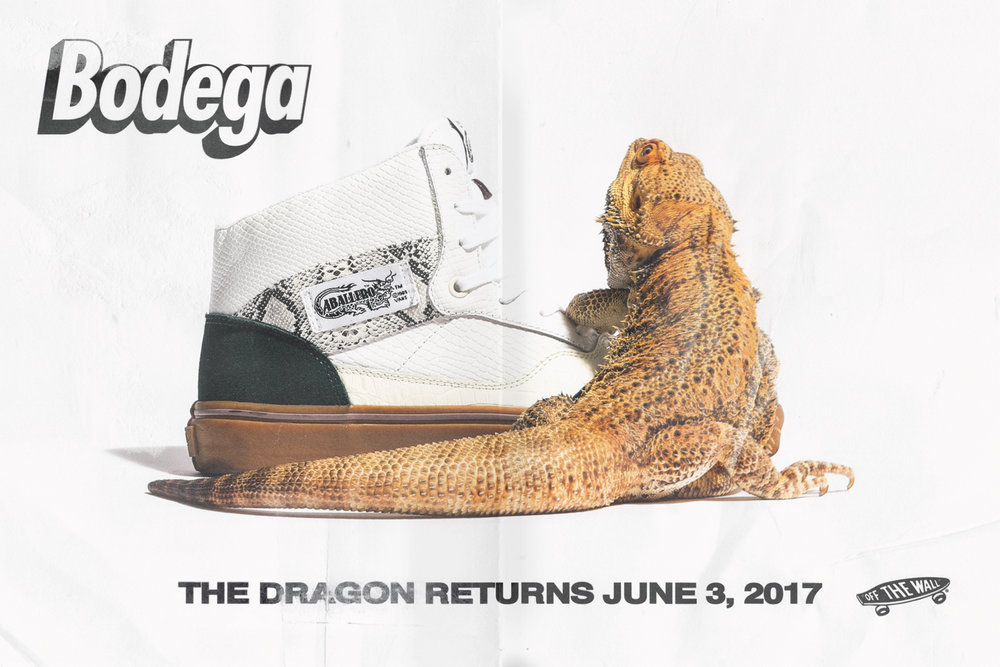 """Vault by Vans x Bodega Half Cab LX and Full Cab LX """"Return of the Dragon"""" Collection"""