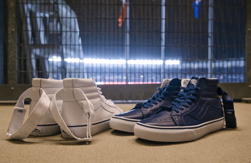 Vault by Vans x The General x New York Yankees Sk8 Hi Reissue LX 101