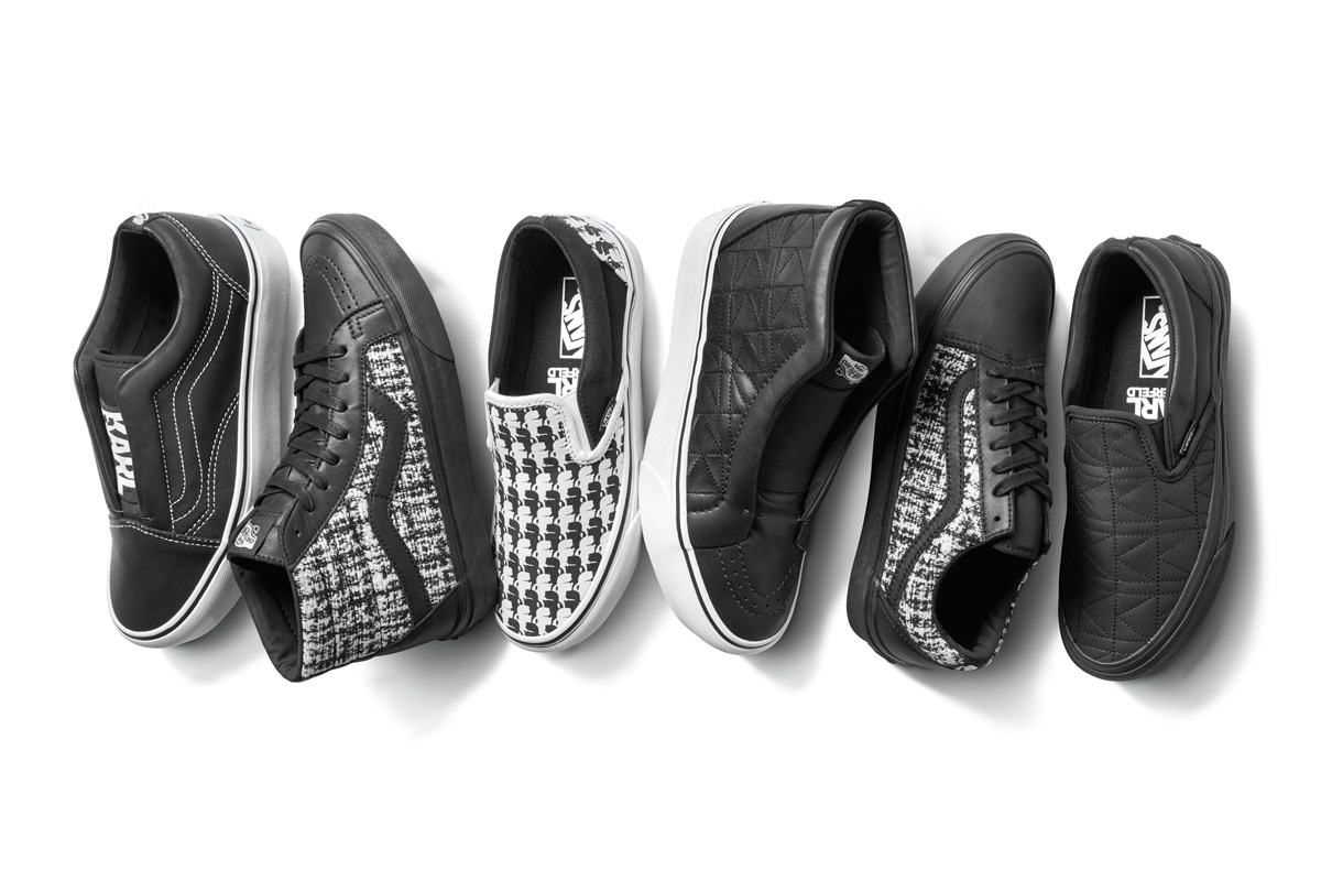 157dbba1f207 Vans x KARL LAGERFELD Collection — strictly waffles.