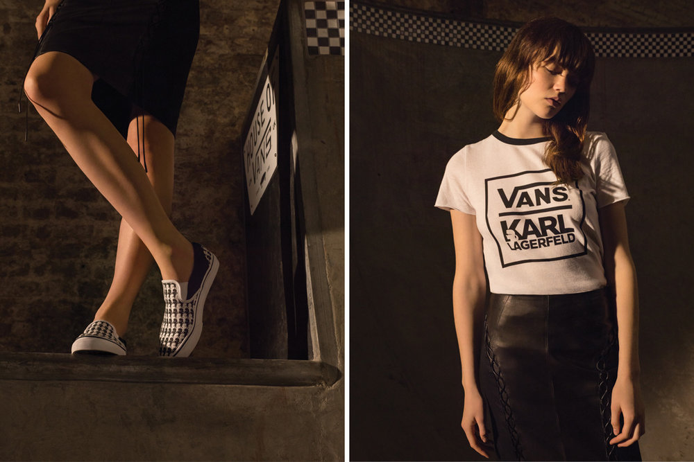 Vans x KARL LAGERFELD Collection