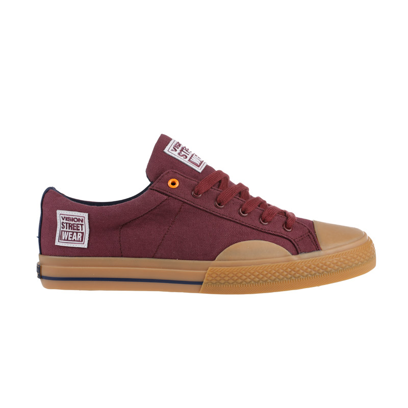 Canvas Low // Burgundy