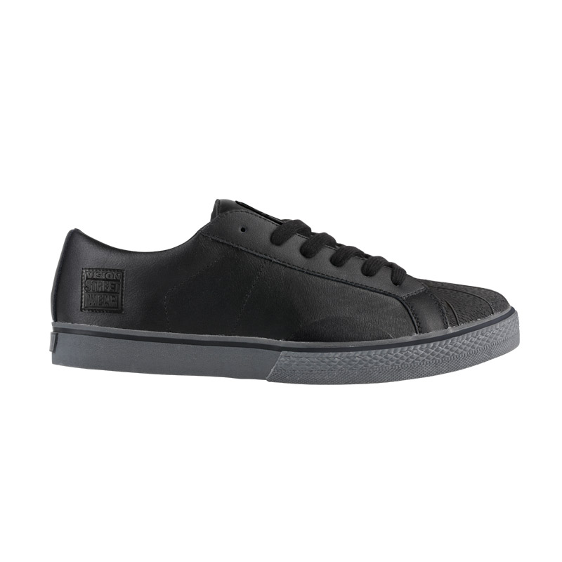 Leather Low // Black