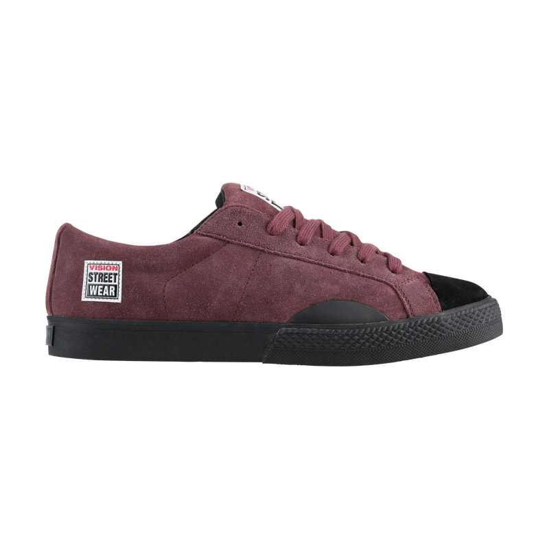 Suede Low // Oxblood