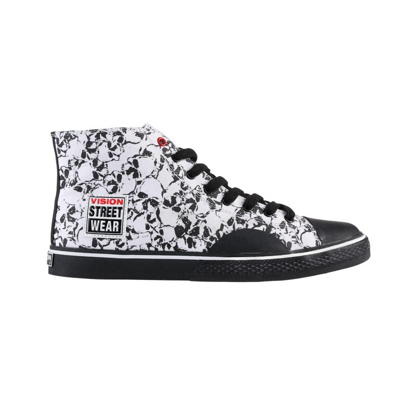 half off eb080 6312e Canvas High    Skull Print