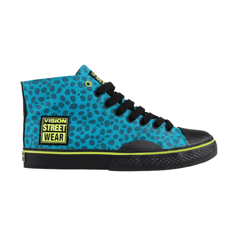 Canvas High // Teal Animal Print