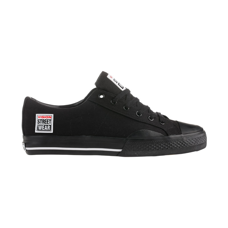 Canvas Low // Black