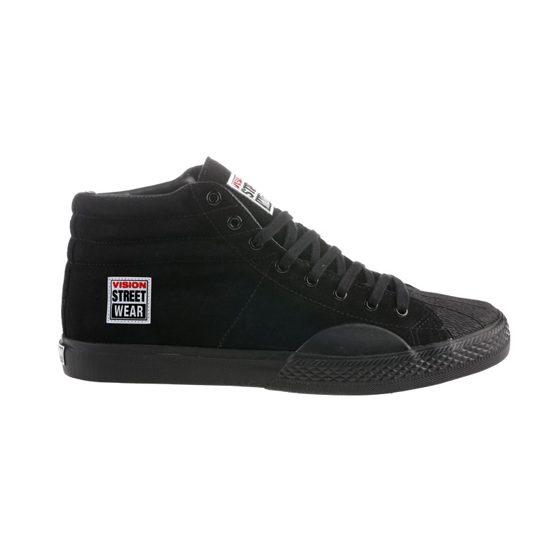Suede High // Black