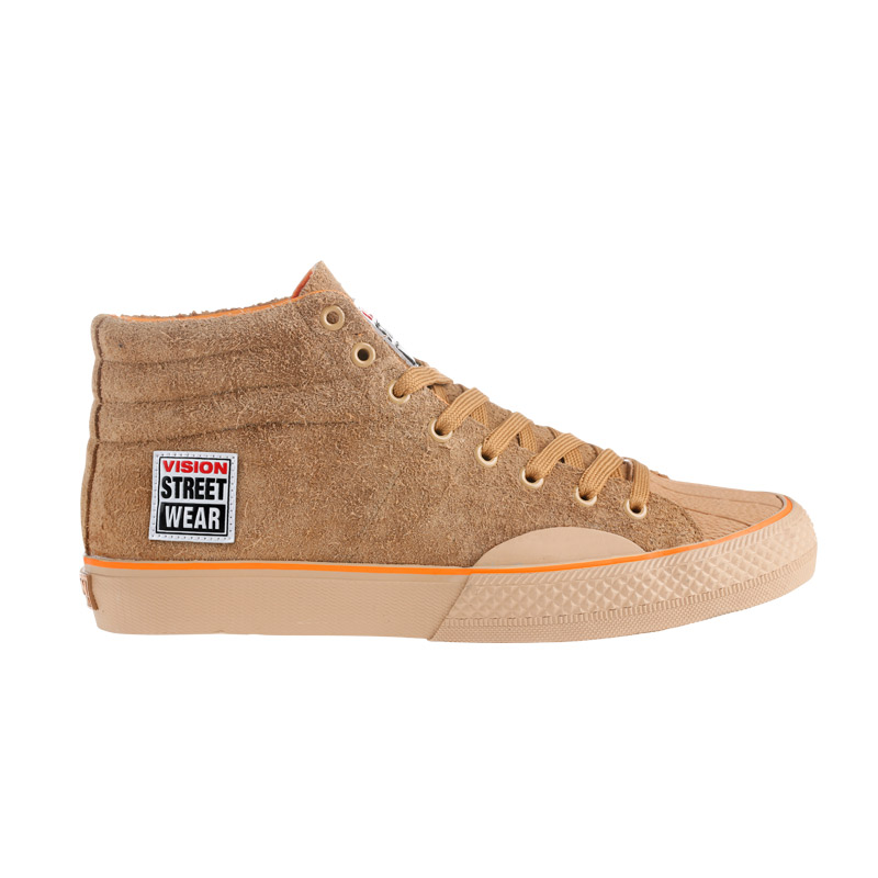 Suede High // Hairy with Orange