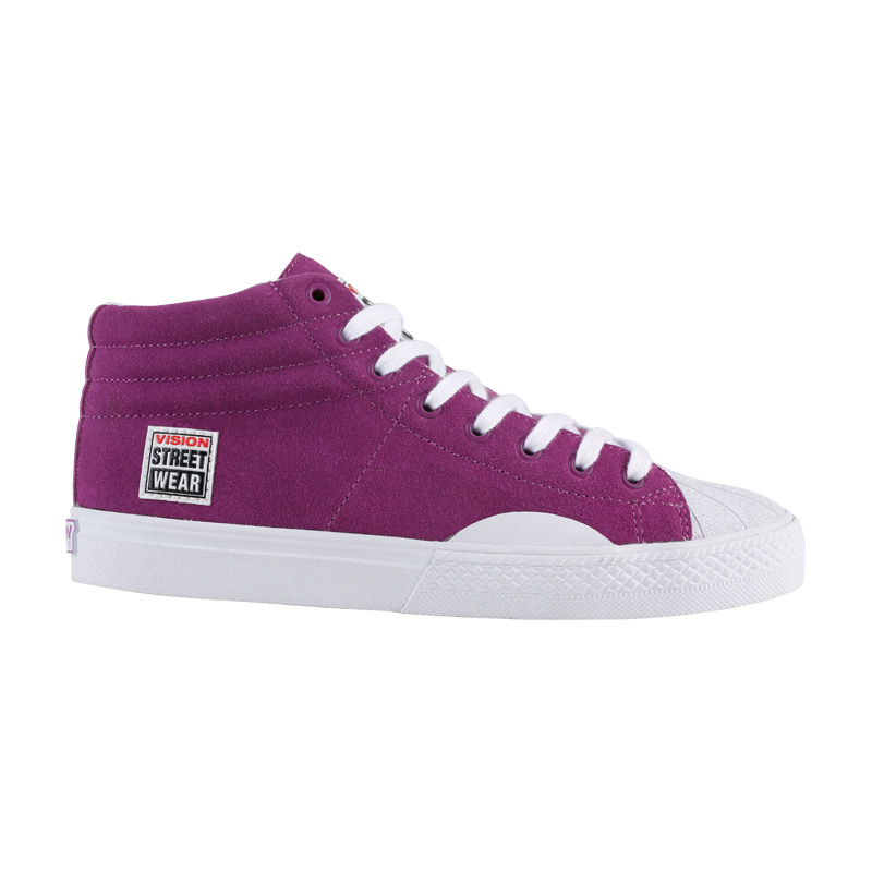 Suede High // Purple