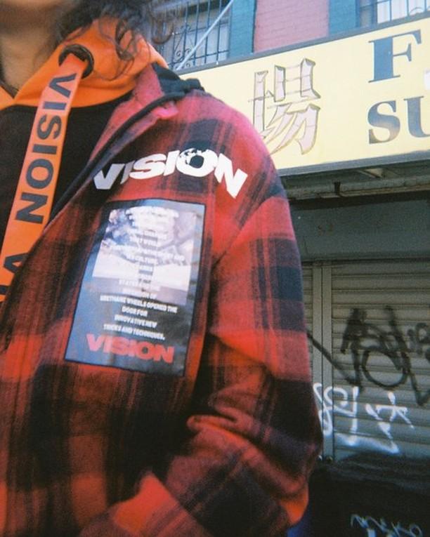 vision in plaid #visionstreetwear