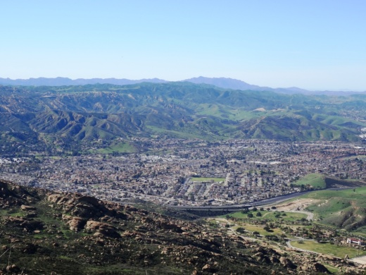 No about it...you'll have some really nice views of Simi Valley from up here!