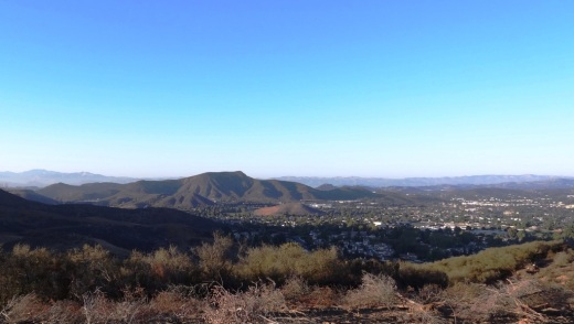 And towards Thousand Oaks on the east
