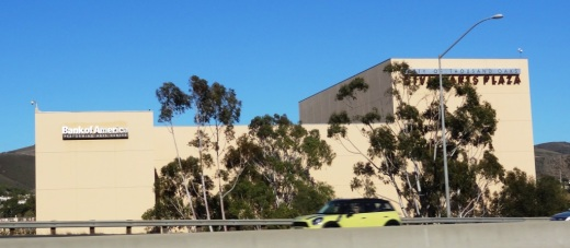 It takes good luck and timing for a novice photographer like me to capture the Thousand Oaks Civic Arts Plaza while driving south on the 101 freeway.