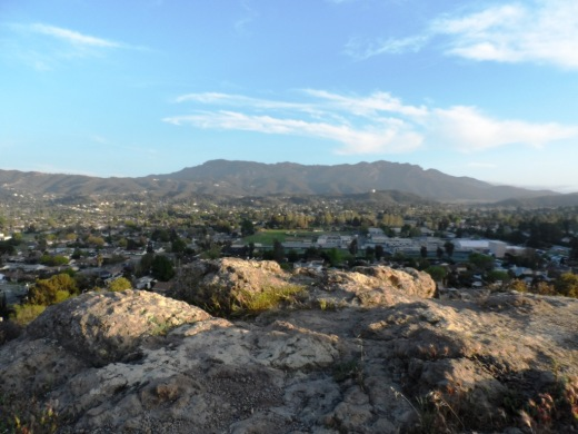 Views toward Boney Mountain.