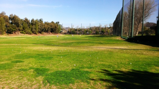 Driving Range at Westlake Golf Course.