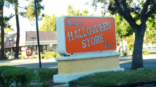 This Halloween Store occupied the Former El Torito spot during October
