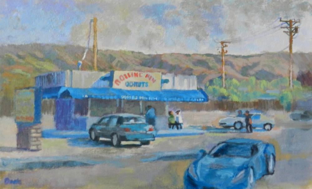Rolling Pin Donuts in Camarillo (Artist: Linda Dark)